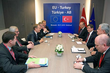 EU Turkey Summit in Brussel